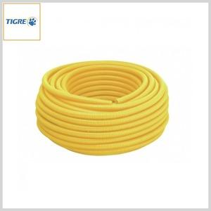 Eletroduto PVC Flexível Corrugado Tigreflex® Amarelo