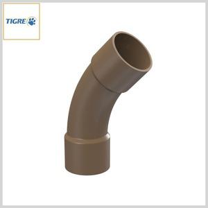 Curva 45º PVC Marrom Soldável