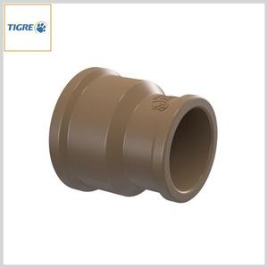 Luva de Redução PVC Marrom Soldável