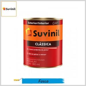 Tinta Látex Clássica Premium Fosco-Aveludado, 900ml