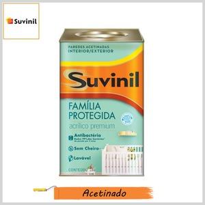 Tinta Acrílica Família Protegida Antibactéria Premium Acetinado, Lata 18lt