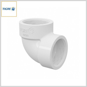 Joelho 90º PVC Água Fria Roscável