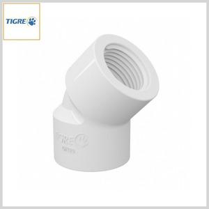 Joelho 45º PVC Água Fria Roscável
