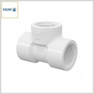 Tê PVC Água Fria Roscável