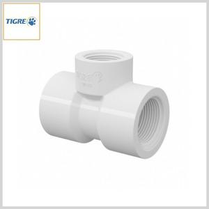 Tê de Redução PVC Água Fria Roscável