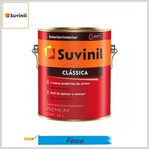 Tinta Látex Clássica Premium Fosco-Aveludado, Galão 3.6lt