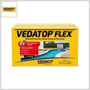 Revestimento Impermeável Flexível Vedatop Flex, 18kg