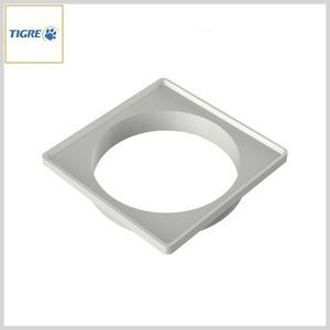 Porta Grelha Plástica Quadrada p/Grelha Quadrada (Branca)