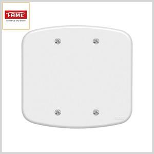 Placa 4x4 Blanc (F00) Cega