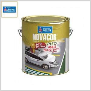Tinta Acrílica Novacor® Piso Mais Resistente Premium Liso, Galão 3.6lt