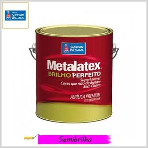 Tinta Acrílica Metalatex® Brilho Perfeito Premium Semibrilho, Galão 3.6lt