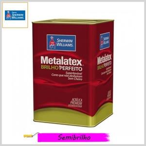 Tinta Acrílica Metalatex® Brilho Perfeito Premium Semibrilho, Lata 18lt
