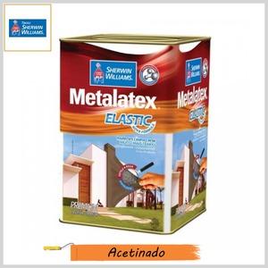 Tinta Acrílica Metalatex® Elastic Premium Acetinado, Lata 18lt