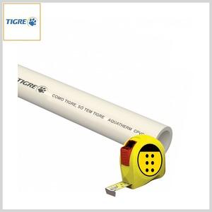 Tubo CPVC Água Quente Aquatherm® Soldável (Venda por Metro)