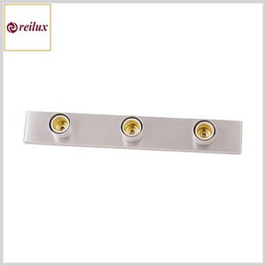 Luminária Camarim 174 Perfil Alumínio 3xE27 Sistema Clic (400mm)
